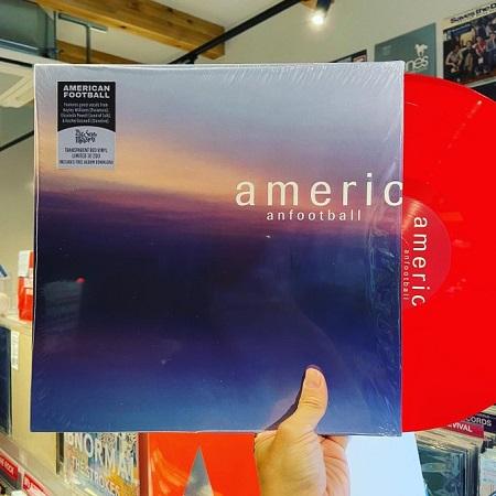 AMERICAN FOOTBALL / LP3 (UK Edition) LP+MP3