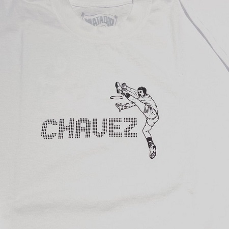 CHAVEZ / White Long Sleeve  T-SHIRTS