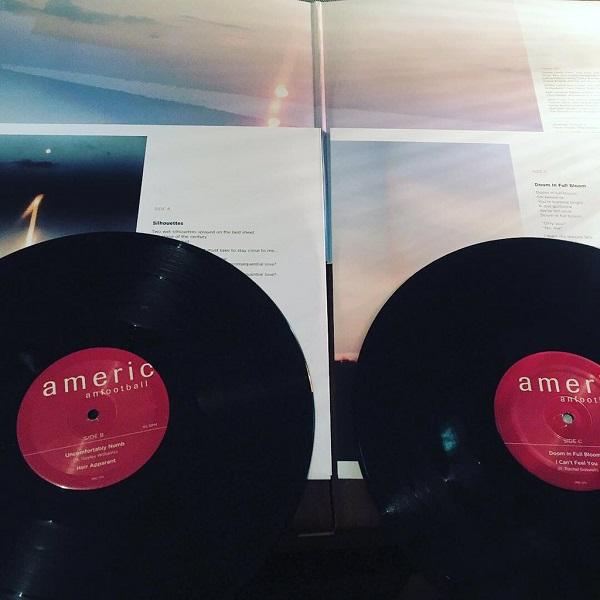 AMERICAN FOOTBALL / LP3  2xLP(BLACK)+MP3