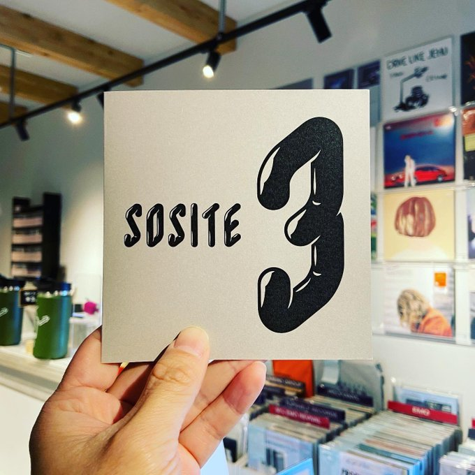 SOSITE / 3  CD