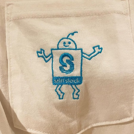 STIFFSLACK / SSくん(刺繍) ポケットT-SHIRTS