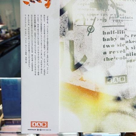 PALE SAINTS / Mrs. Dolphin  LP(GREEN)
