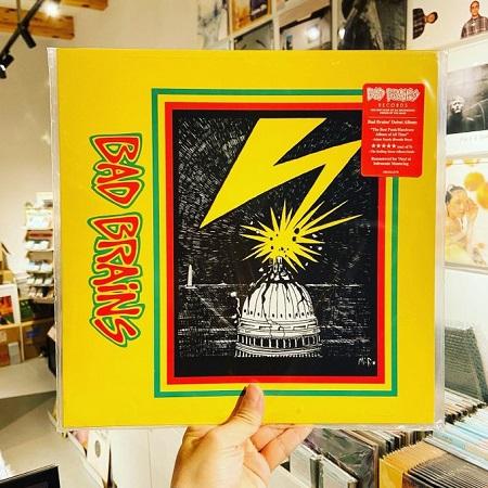 BAD BRAINS / st  LP