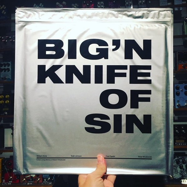 BIG'N / Knife Of Sin  LP