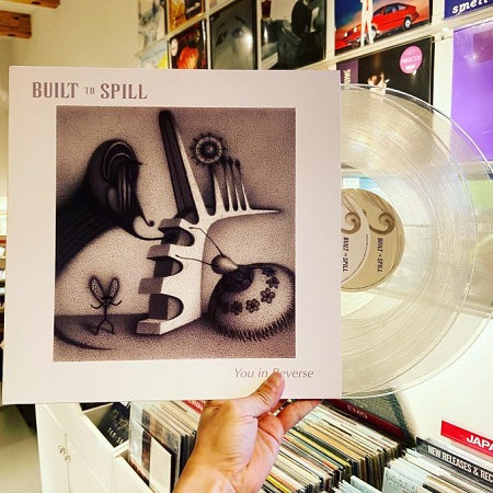 BUILT TO SPILL / You in Reverse 2xLP(CLEAR)