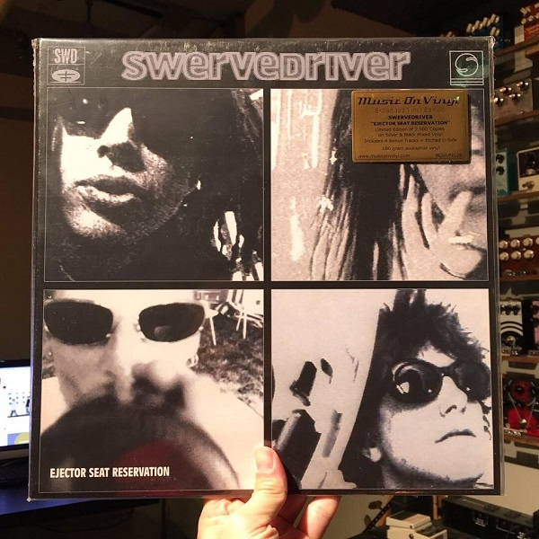 SWERVEDRIVER / Ejector Seat Reservation 2xLP(SILVER)