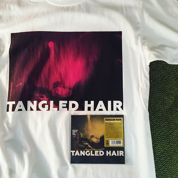 TANGLED HAIR / We Do What We Can  CD+T-shirts  BUNDLE
