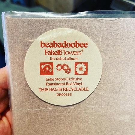 BEABADOOBEE / Fake It Flowers  LP(RED)+MP3