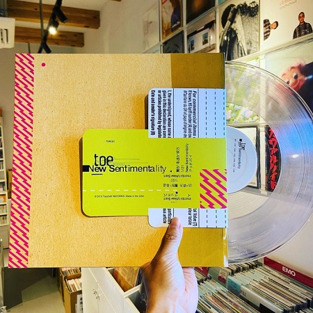 toe / New Sentimentality EP LP(CLEAR)+MP3