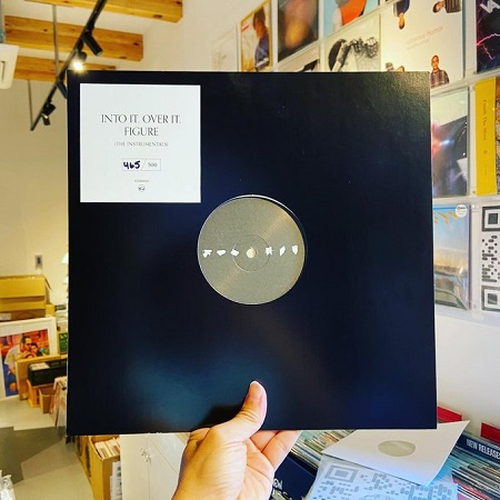 INTO IT. OVER IT. / Figure (The Instrumentals)  LP(CLEAR)