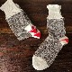 Red Heel Socks