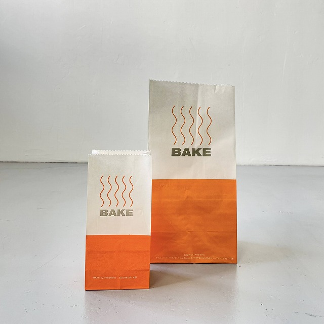 "Paper Bag ""BAKE""_L"