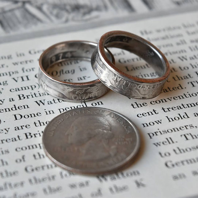 USA Coin Ring_QUARTER