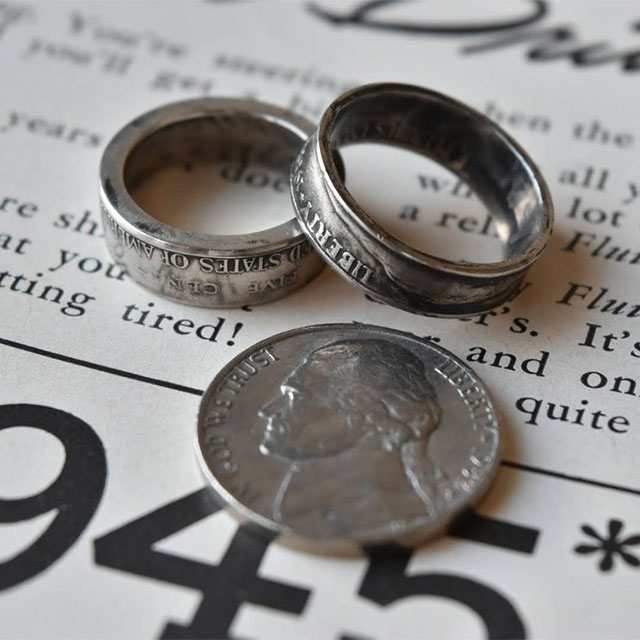 USA Coin Ring_NICKEL