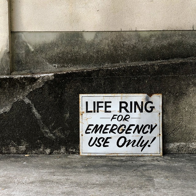 ROAD SIGN [LIFE RING]