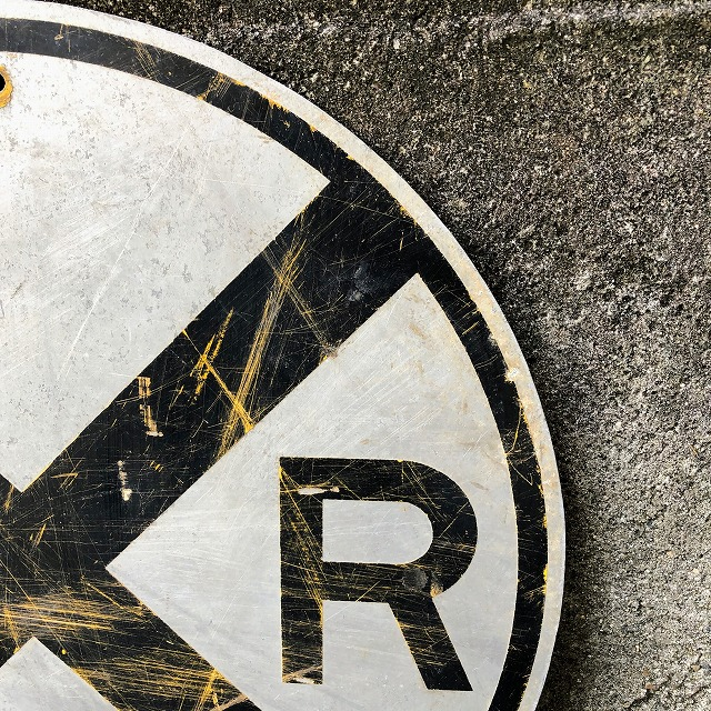 ROAD SIGN [R×R_GY・BK]