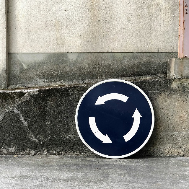 ROAD SIGN [Roundabout]