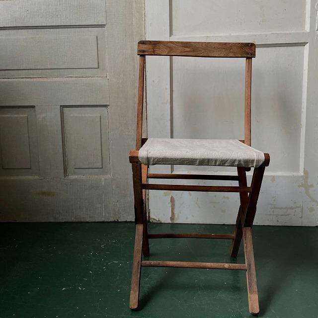 Wooden Folding Chair_A