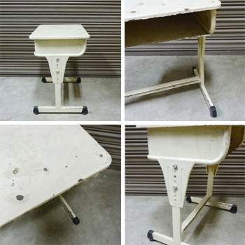 School desk & chair