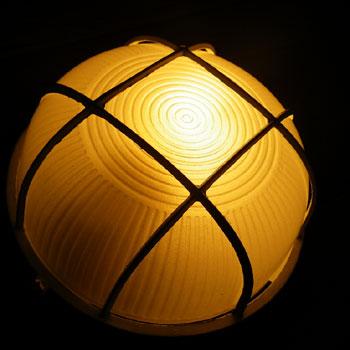 Wall Lamp 【Oval Mesh_L】