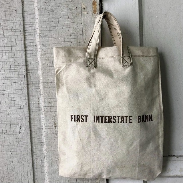 Canvas Bank Bag