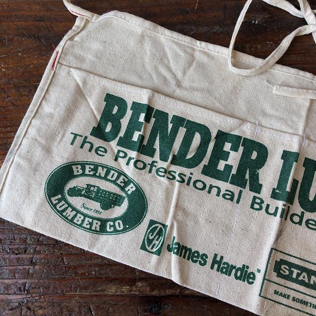 Vintage Work Apron_BENDER LUMBER