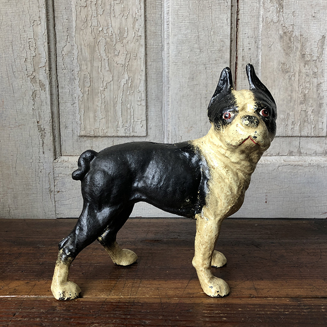 Cast Iron Bank_Boston Terrier
