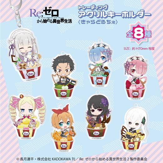 【BOX】Re:ゼロから始める異世界生活 トレーディングアクリルキーホルダー<きゃらどるちぇ vol.2>