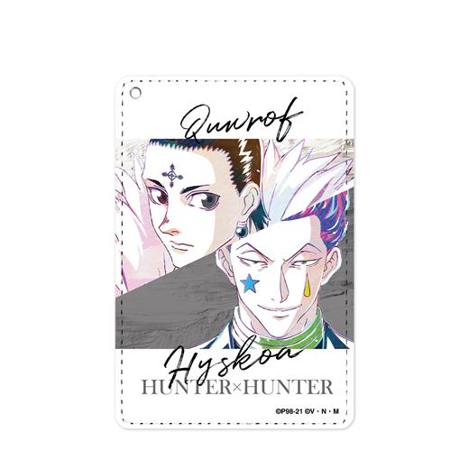 『HUNTER×HUNTER』クロロ&ヒソカ Ani-Art 第2弾 1ポケットパスケース【予約】