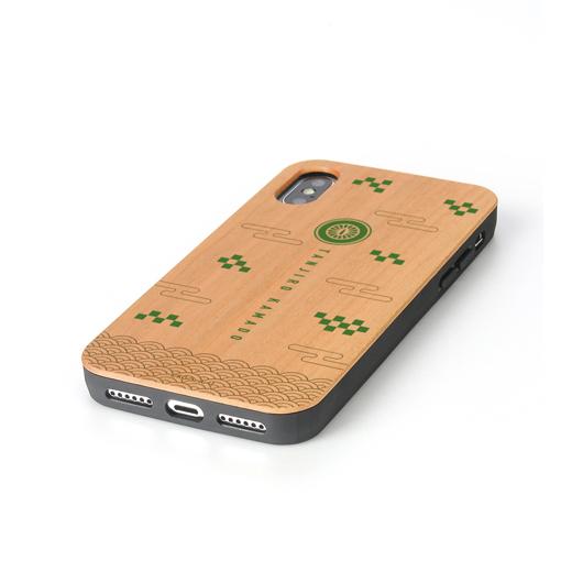 鬼滅の刃 竈門炭治郎<br>ウッドiPhoneケース(対象機種/iPhone X/XS)【予約】