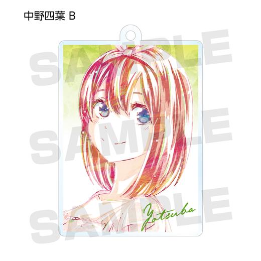 『五等分の花嫁』トレーディング Ani-Art アクリルキーホルダー vol.2【予約】