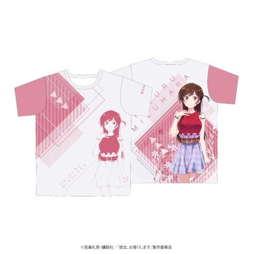 彼女、お借りします フルグラフィックTシャツ/水原千鶴