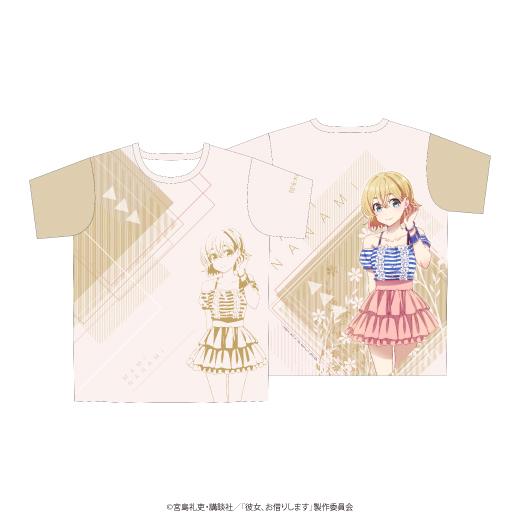 彼女、お借りします フルグラフィックTシャツ/七海麻美
