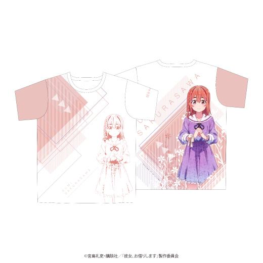 彼女、お借りします フルグラフィックTシャツ/桜沢墨