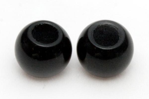【丸ビーズ】オニキス 6mm (2.5mm穴) 10粒セット売り