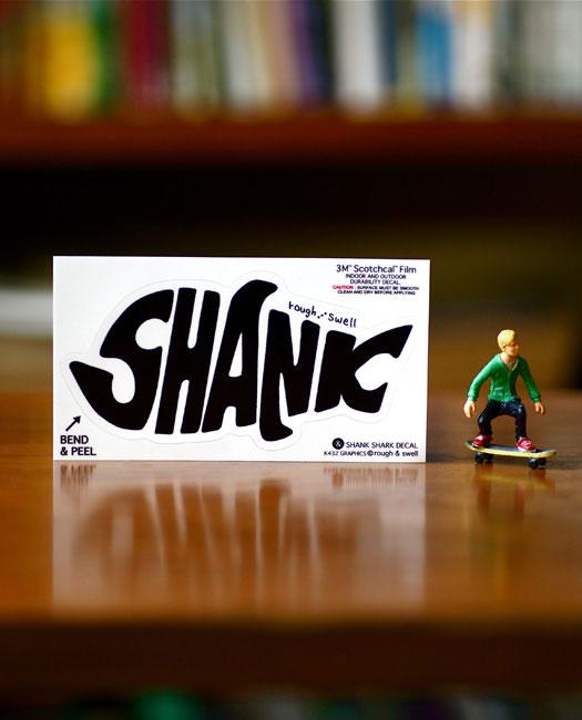 RSA-14010 SHANK SHARK DECAL