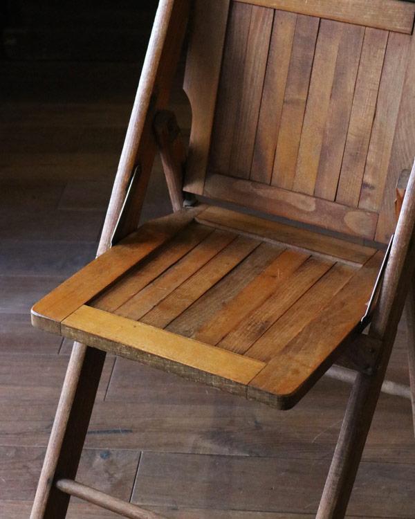 木製フォールディング チェア D