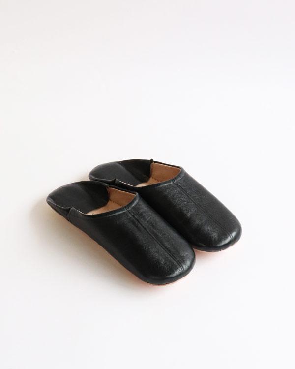 WARANGWAYAN(ワランワヤン) バブーシュ ブラック
