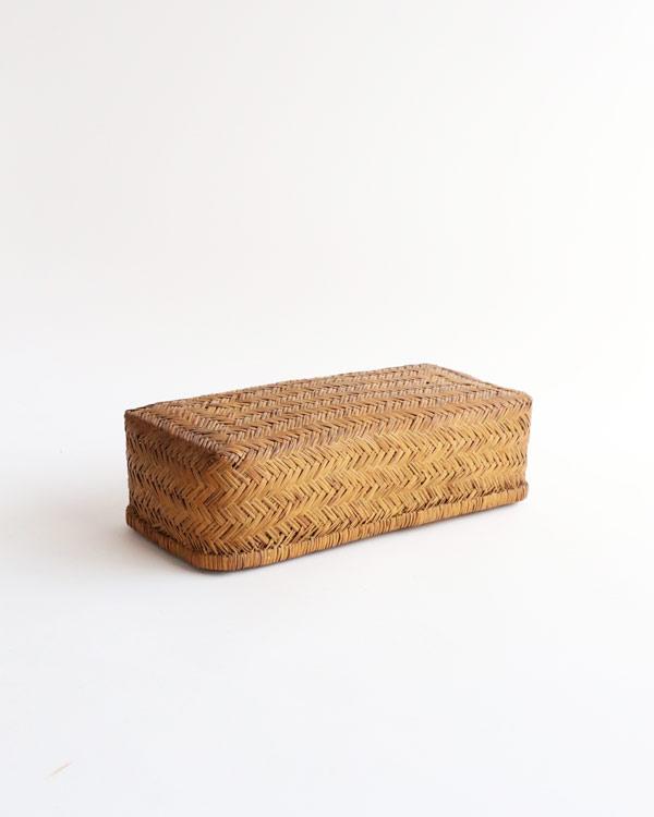 篠竹収納かご