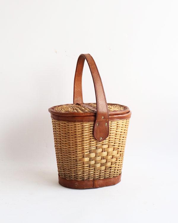 ラタン ハンドバッグ