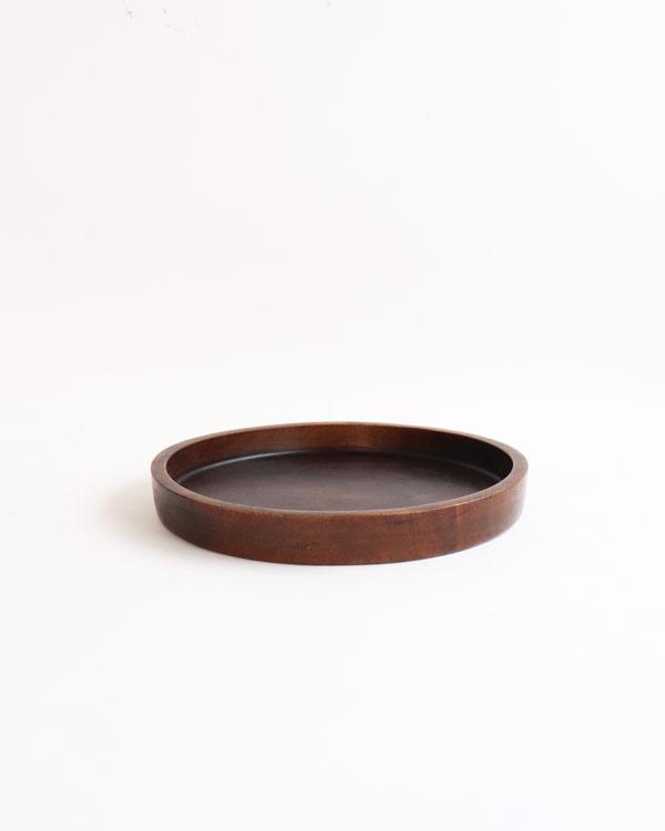 木製ラウンドトレイ