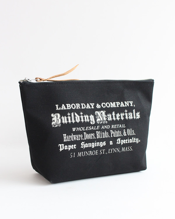 LABOR DAY Stand Tool Pouch  Black