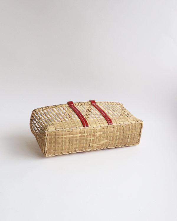 warang wayan(ワランワヤン) amiami革手バスケット レッド M
