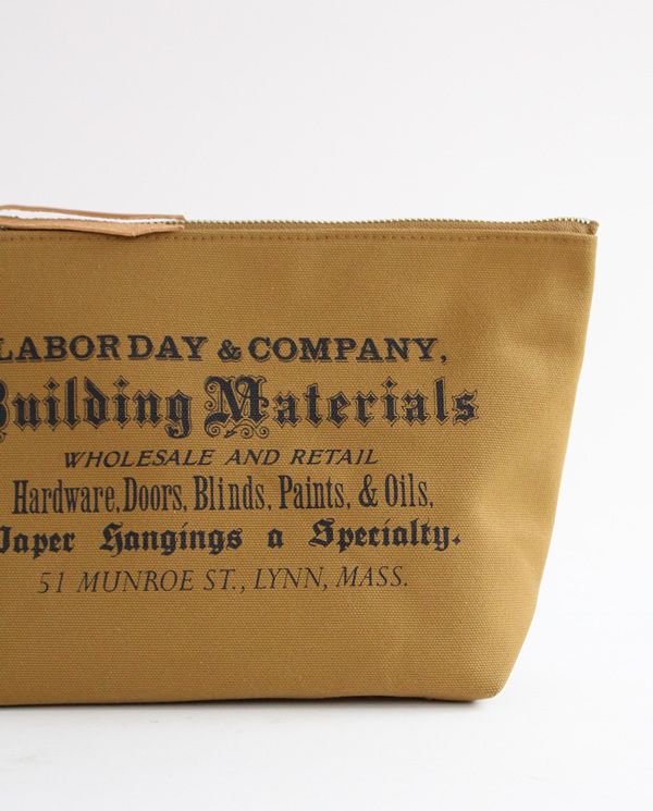 LABOR DAY Stand Tool Pouch  Brown