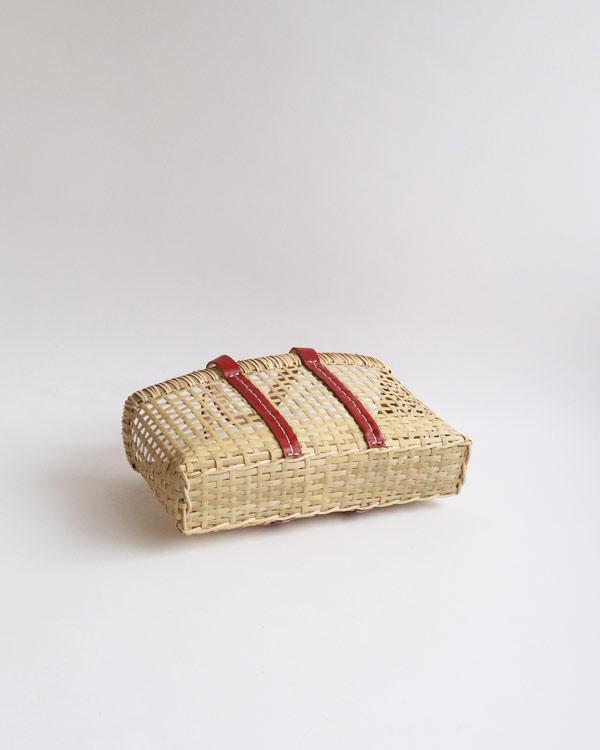 warang wayan(ワランワヤン) amiami革手バスケット レッド S