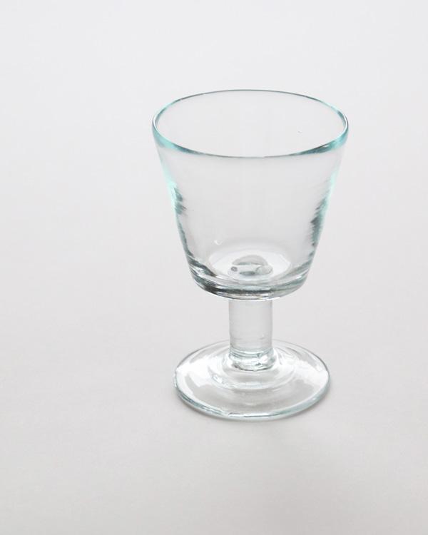 イラン手吹きガラス ゴブレット