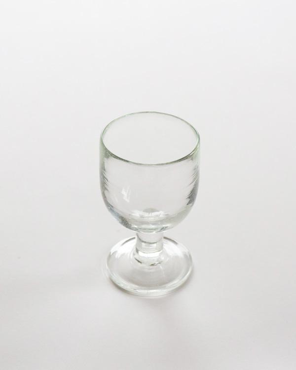 イラン手吹きガラス ワイングラス