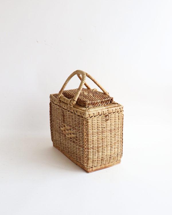 籐製バスケット スモール JP-028