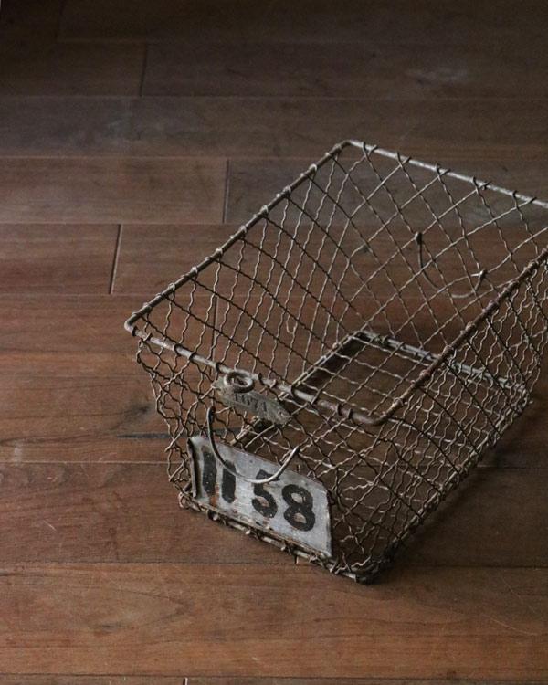 """ワイヤージムバスケット """"1671"""""""