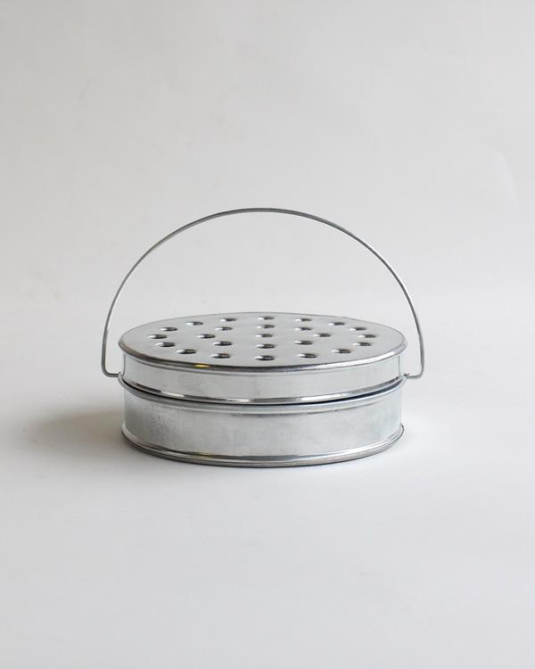 warang wayan(ワランワヤン) 蚊取り線香入れ 丸 アルミ